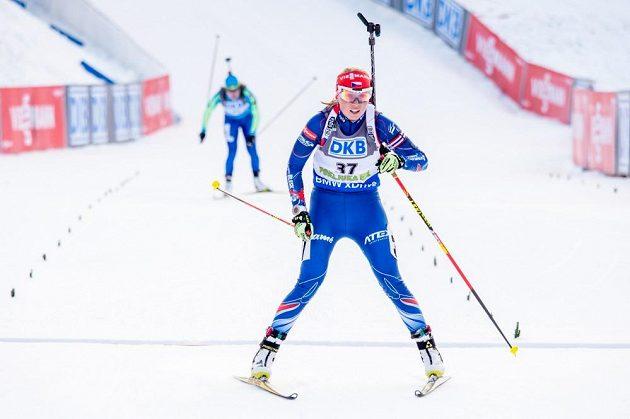 Eva Puskarčíková si dojela pro životní 12. místo.