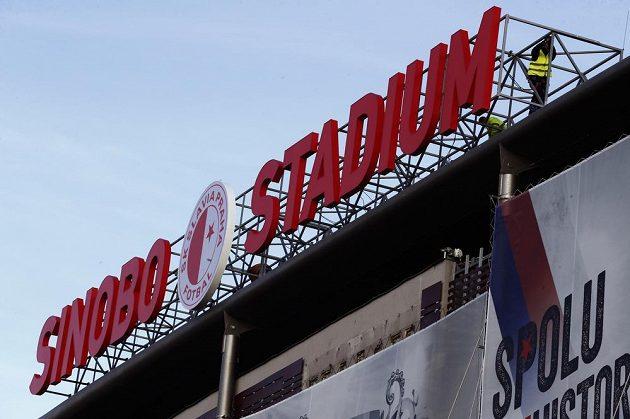 Fotbalový stadion Slavie v Edenu se přejmenoval na Sinobo stadium.