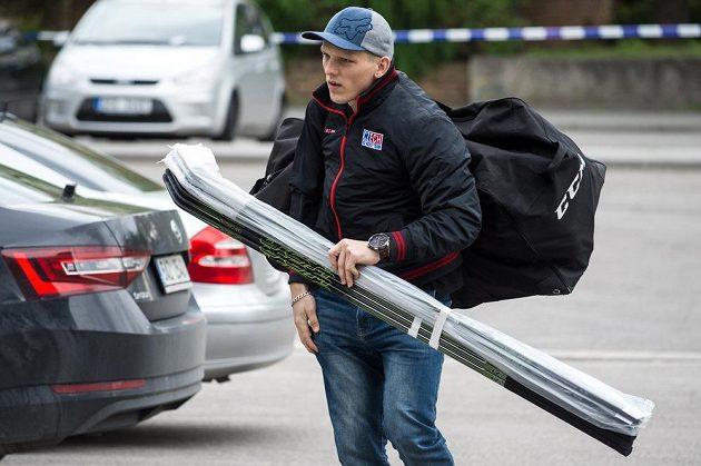 Na srazu národního týmu v Českých Budějovicích nechyběl ani obránce Radim Šimek.