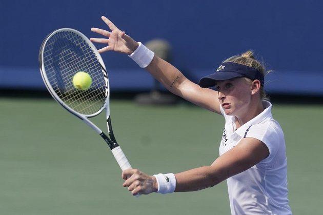 Švýcarská tenistka Jil Teichmannová si zahraje finále turnaje v Cincinnati.