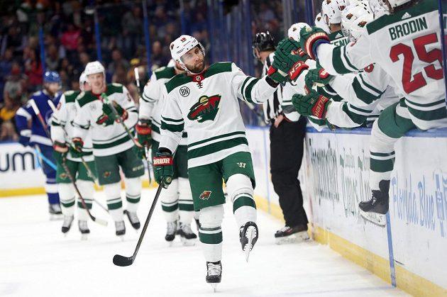 Hokejisté Minnesoty si připsali cennou výhru na ledě lídra