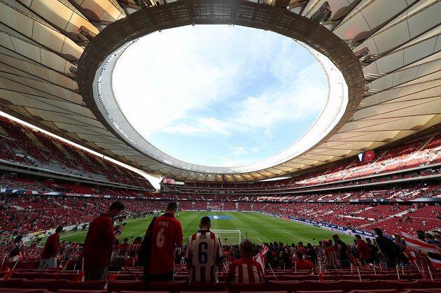Rekonstruovaný madridský stadión Metropolitano.