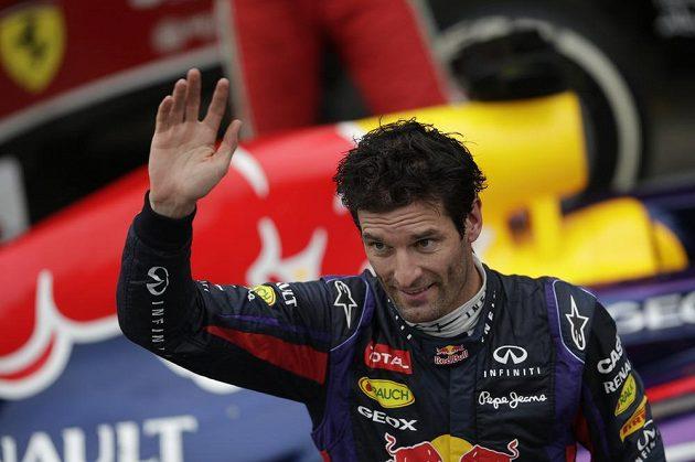 Sbohem a šáteček. Mark Webber se v Brazílii rozloučil s týmem Red Bull i celou formulí 1.
