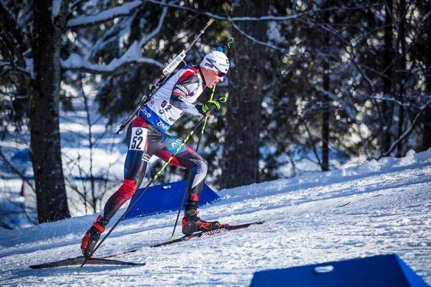 Michal Krčmář skončil při sprintu v Ruhpoldingu pětadvacátý, běh mu nevyšel.