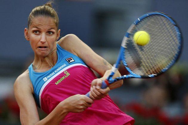 Karolína Plíškové v semifinále v Madridu na krajanku nestačila.