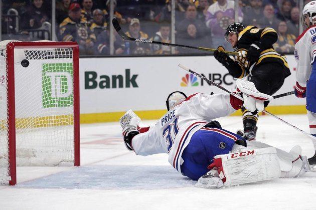 David Pastrňák si připsal svůj osmý hattrick v NHL