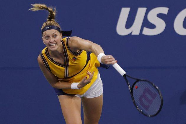 Česká tenistka Petra Kvitová zvládla vstup do US Open parádně.