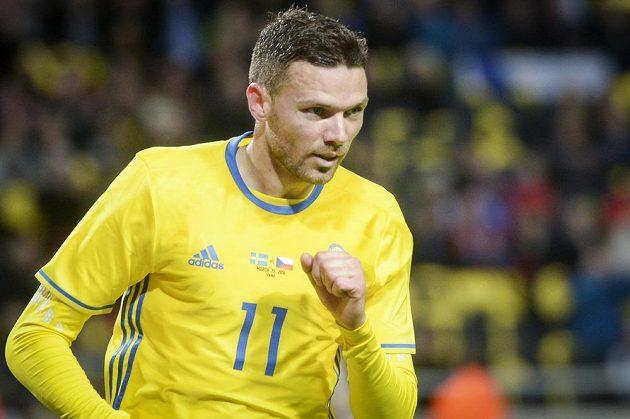 Švédský fotbalista Marcus Berg.