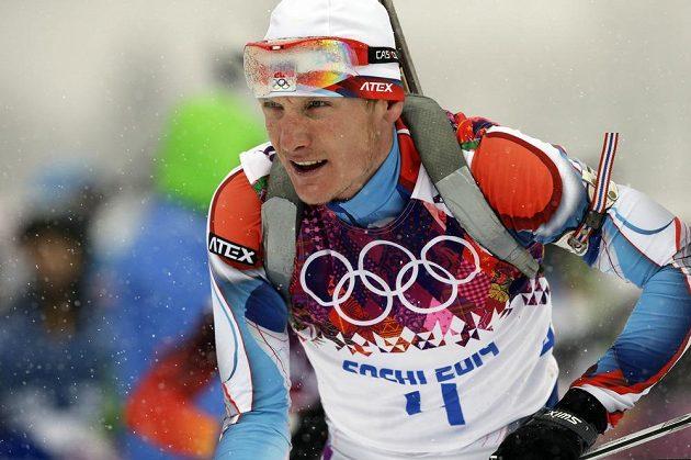Ondřej Moravec šel na trati závodu na 15 km s hromadným startem zarputile za medailí.