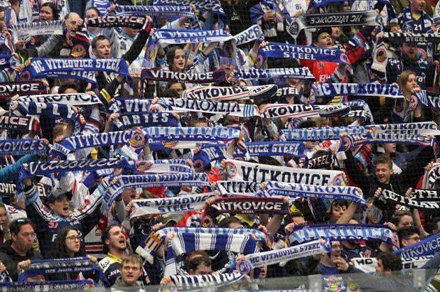 Fanoušci Vítkovic vytvořili parádní atmosféru