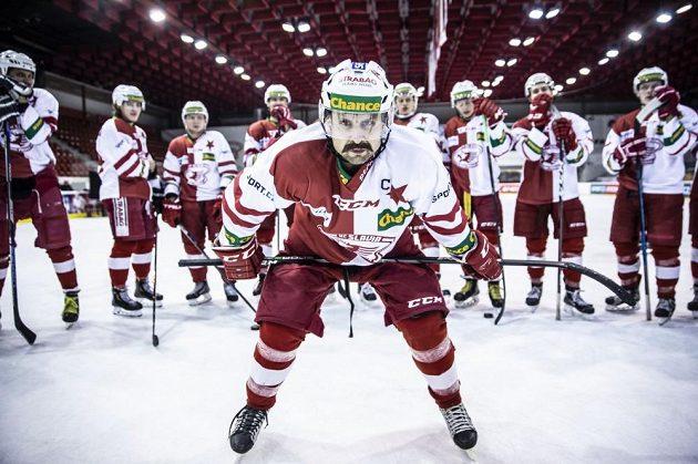 Slavia se chystá na další zápas