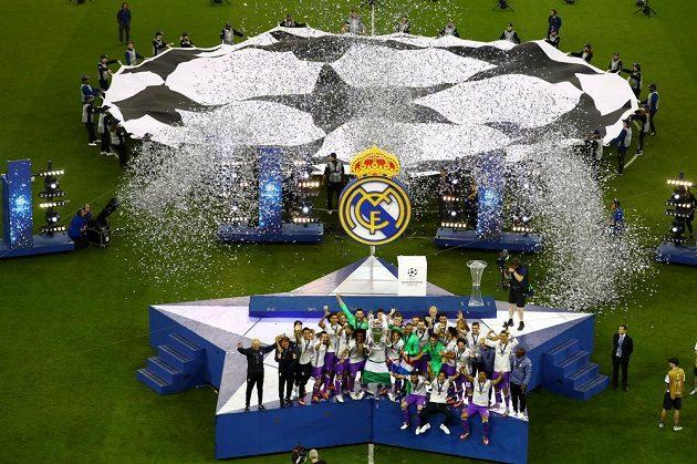 Real Madrid - vítěz Ligy mistrů v sezóně 2016/17.
