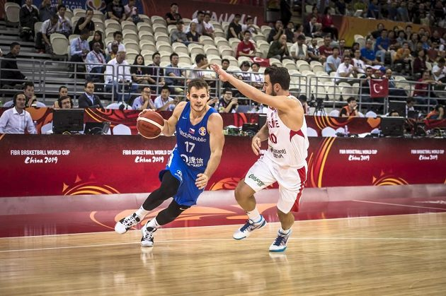 Čeští basketbalisté bojovali o postup s Tureckem