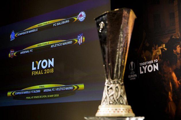Kdo získá trofej? Evropská liga spěje do závěrečné fáze.