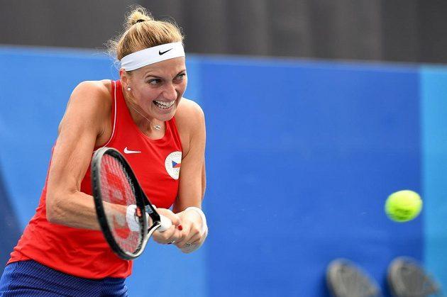 Tenistka Petra Kvitová ve druhém kole olympijského turnaje