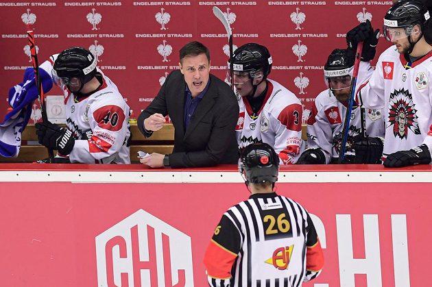 Trenér hokejové Frölundy Roger Rönnberg.