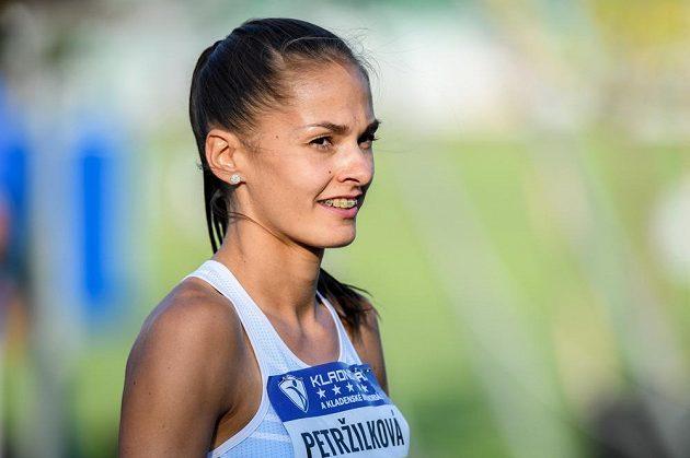 Tereza Petržílková během atletického mítinku Kladno hází 2020