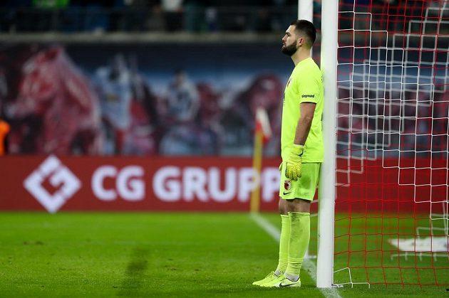 Augburg v čele s českým gólmanem Tomáš Koubkem snil o klubovém rekordu. Po prohraném utkání s Lipskem na něj ale musí tým zapomenout.