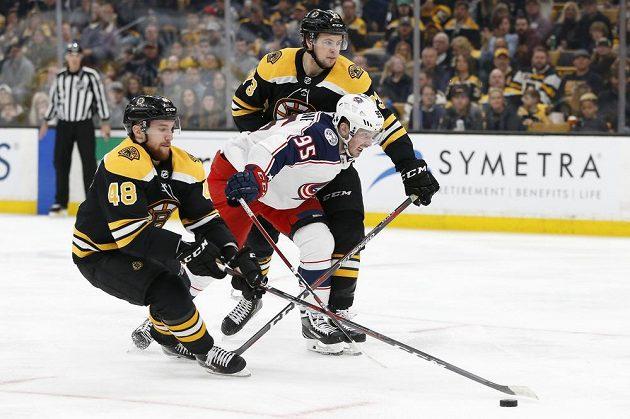 Úvodní zápas série mezi Bostonem a Columbusem nabídl pořádné drama