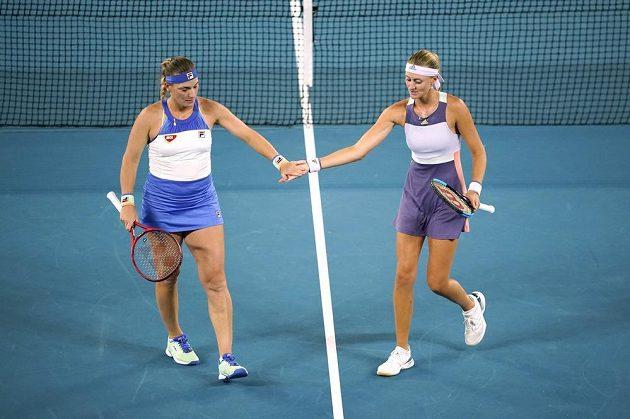 Maďarsko-francouzský pár Tímea Babosová, Kristina Mladenovicová ve finále Australian Open.