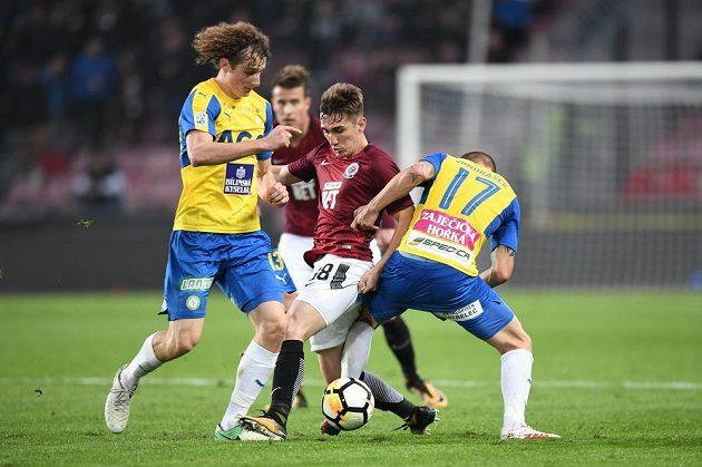 Fotbalisté Sparty ovládli ligový zápas s Teplicemi. Severočeši potvrdili, že se jim na hřištích soupeřů nedaří.
