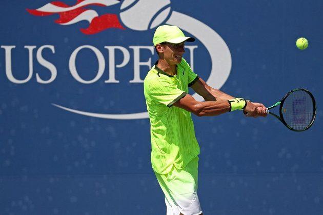Andrej Kuzněcov na US Open.