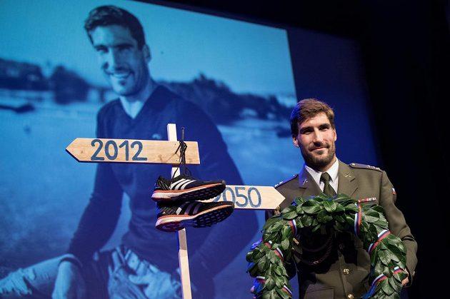 Olympijský vítěz David Svoboda se v Praze oficiálně rozloučil s kariérou.