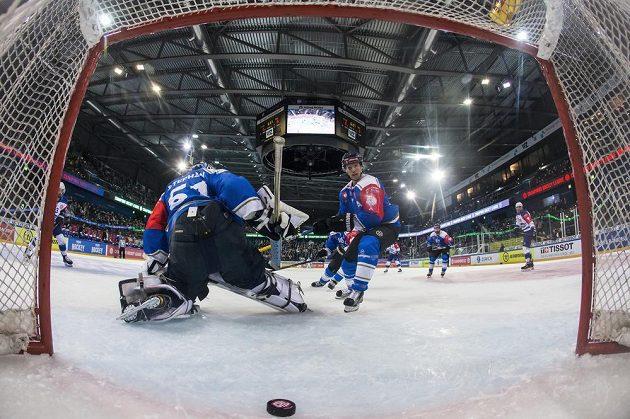 Brankář hokejové Zugu kapituloval v odvetné osmifinále Ligy mistrů s Kometou Brno.
