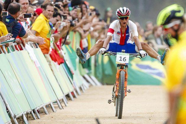 Kateřina Nash obsadila v olympijském závodě páté místo.