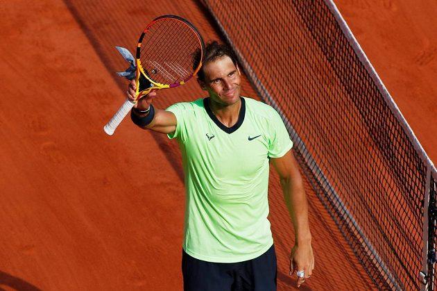 Antukový král! Španělský tenista Rafael Nadal je počtrnácté v semifinále Roland Garros.