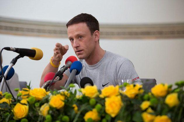 Ben Foster alias Lance Armstrong.