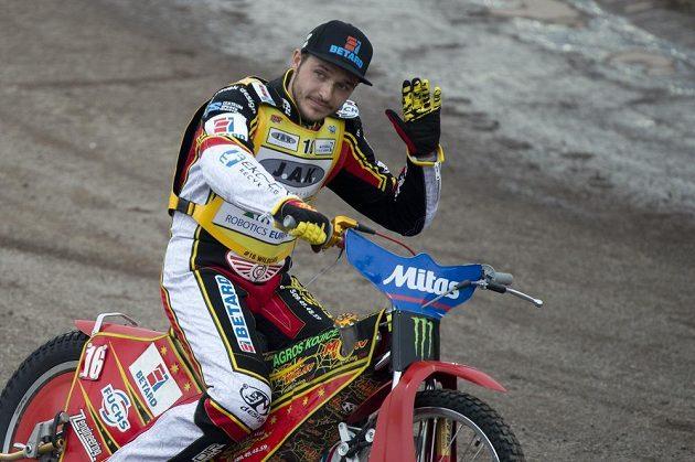 Český závodník Václav Milík.