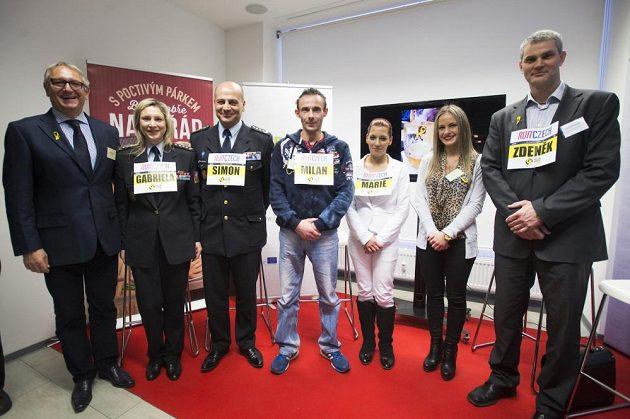 Akce Yellow Ribbon Run se účastní i nejvyšší představitelé českého vězeňství či manažeři firem.