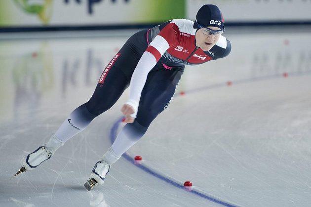 Česká rychlobruslařka Karolína Erbanová.