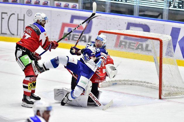 Pardubice hostily v 39. kole extraligy brněnskou Kometu