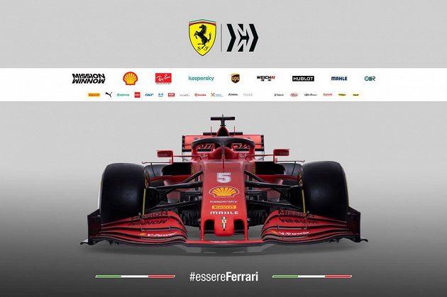 Ferrari předvedla svůj nový monopost
