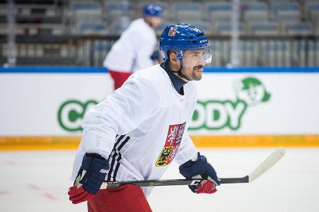 Kapitán české reprezentace Tomáš Plekanec.