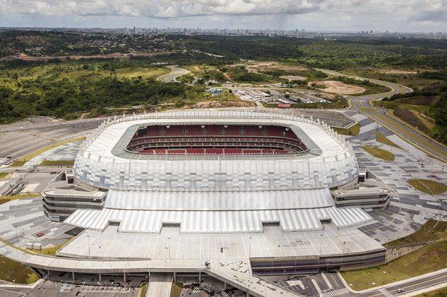 Arena Pernambuco v Recife využívá energii ze solárních panelů.