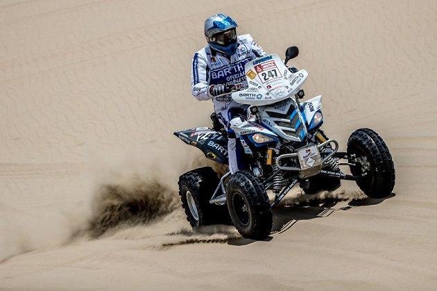 Josef Macháček z Barth Racing při Rallye Dakar 2018.