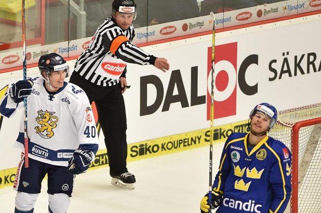 Zleva Tomi Sallinen z Finska a Calle Rosén ze Švédska.