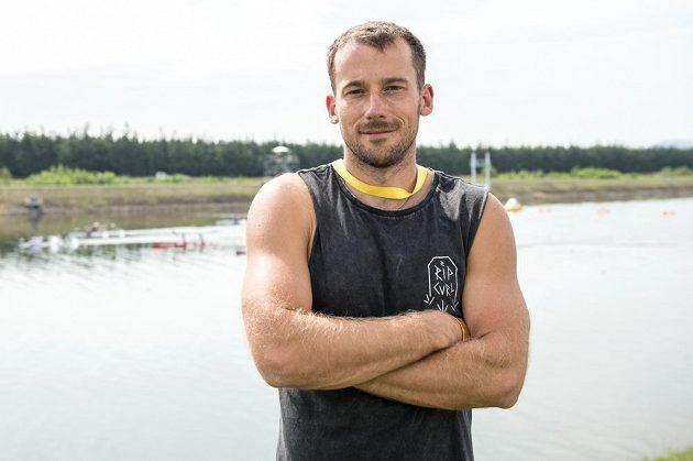 Trenér indonézských kanoistů Jaroslav Radoň během Mistrovství světa v rychlostní kanoistice v Račicích.