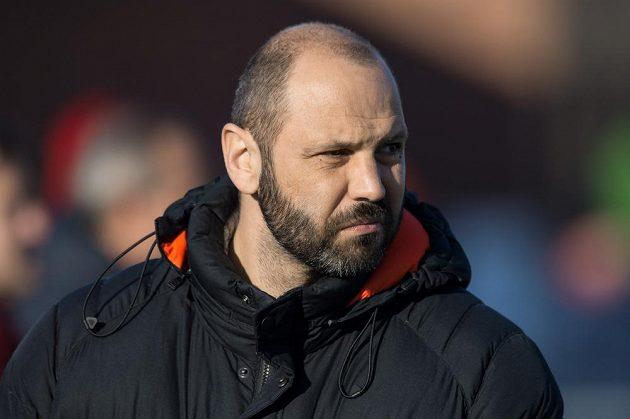 Hlavní trenér Sparty Tomáš Požár.
