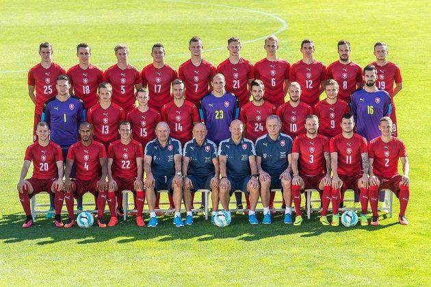 Tady jsou. Čeští fotbaloví reprezentanti na prahu kvalifikace v boji o MS 2018.