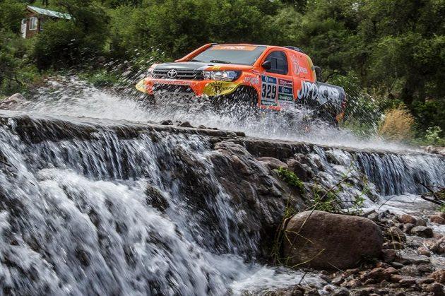 Martin Prokop na trati 2. etapy Rallye Dakar.