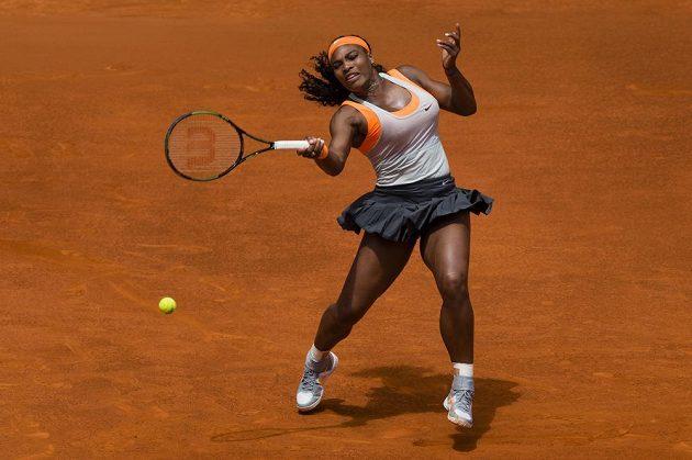 Američanka Serena Williamsová masu moc nedá.