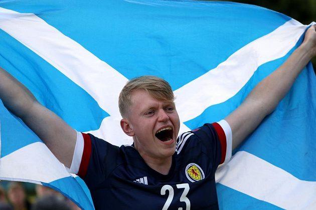 Fanoušci Skotska věřili na EURO v postup svých barev.