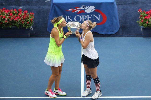 Pohár pro vítězky US Open už česko-americkému páru nikdo nevezme.