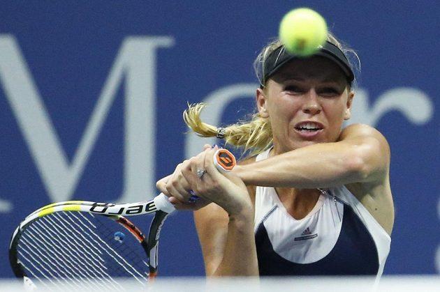 Caroline Wozniacká s českou tenistkou Petrou Cetkovskou nakonec prohrála.