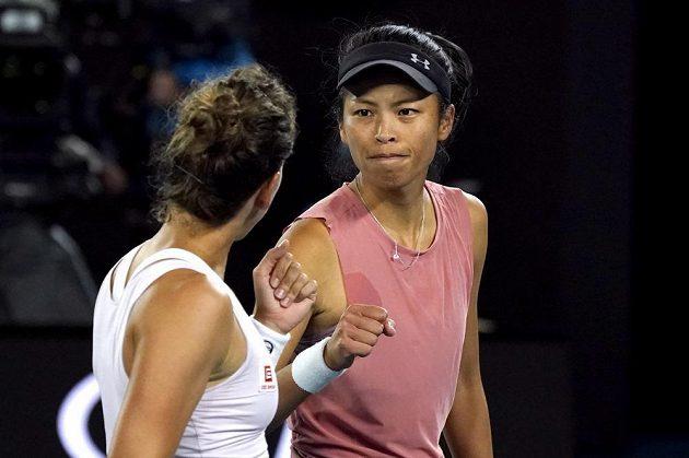 Tenistka Barbora Strýcová deblový titul na Australian Open nezískala. Se Sie Šu-wej prohrály ve finále s Babosovou a Mladenovicovou jasně 2:6, 1:6.