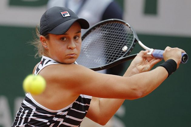 Australanka Ashleigh Bartyová zažila stejně jako Vondroušová první grandslamové finále.